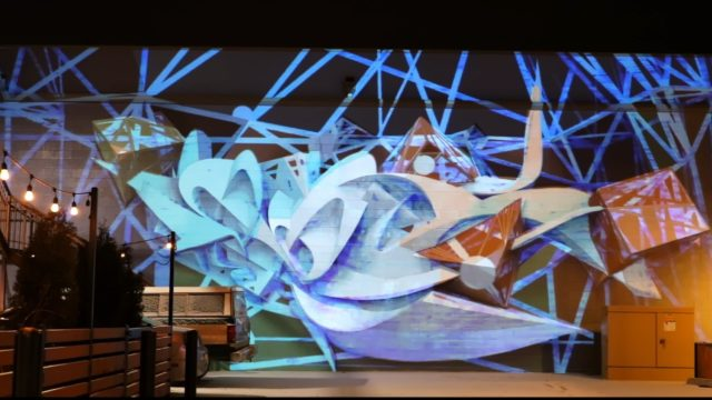 Alt Ethos Projection Mapping