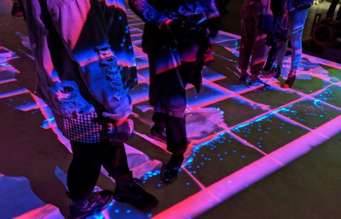 Alt Ethos Interactive Projection Floor